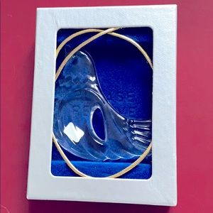 Dove Ornament Joyous Collection Crystal Germany